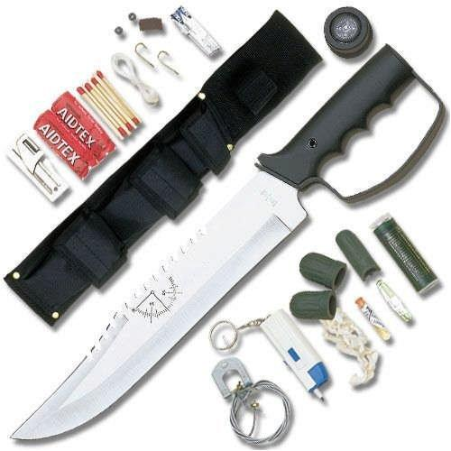 United Cutlery Bushmaster Survival Knife with Knuckle Guard