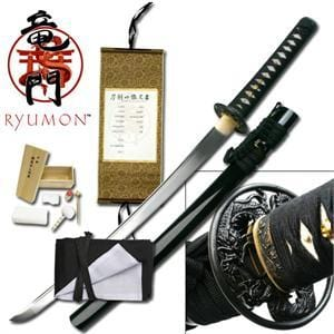 Ryumon Royal Dragon Wakizashi Sword