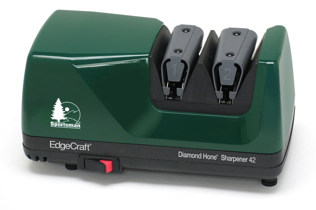 EdgeCraft Sportsman M42 Diamond Hone Electric Knife Sharpener, Hunter Green