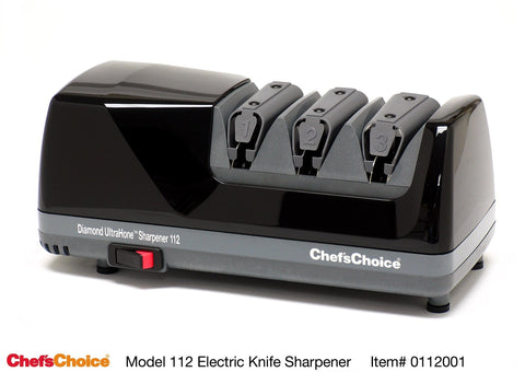 Chef's Choice Diamond Ultra Hone Electric Knife Sharpener, Black