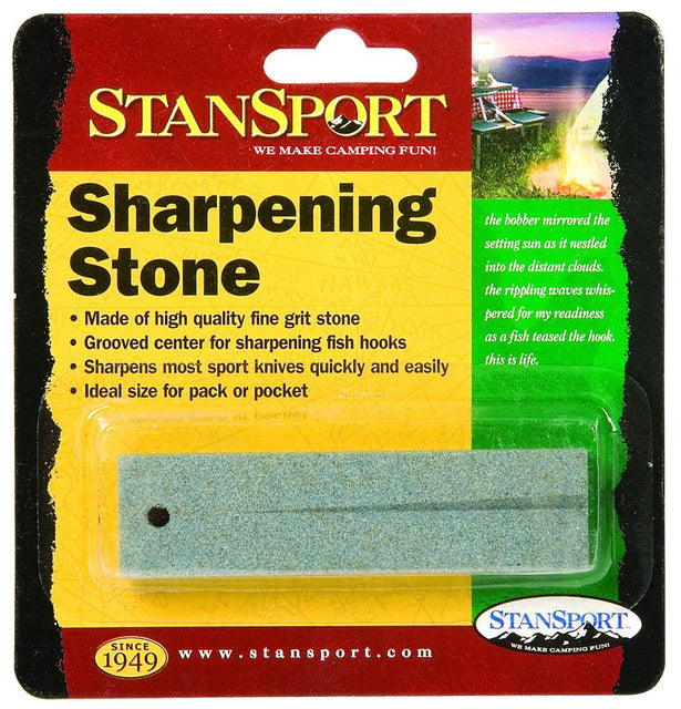 Stansport Sharpening Stone - Fine Grit