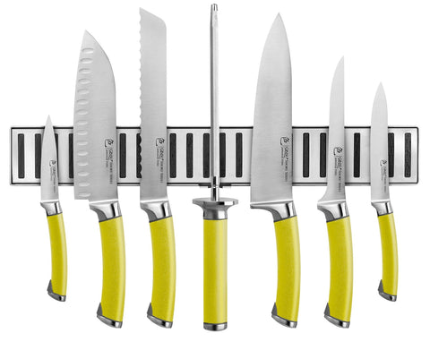 Ginsu Spiced Shoku Series 8 Piece Cutlery Set with Magnetic Strip