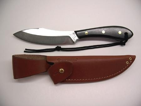 Grohmann Knives Blk Micarta Survival Model Carbon Steel