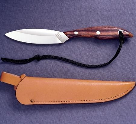 Grohmann Knives Rosewood Handle Carbon Blade