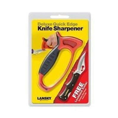 Lansky Sharpeners Quick Edge Sharpener and Knife Combo Set