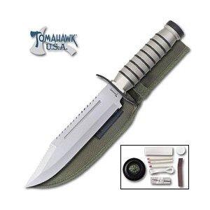 United Cutlery Survival Fixed Blade Knife with Survival Kit