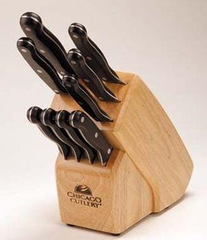 Chicago Cutlery Classic Chef 10 Piece Knife Set - Poly Handled