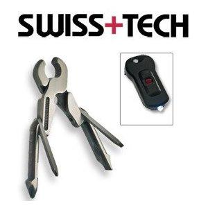 SwissTech Micro-Pro XL 11-in-1 Tool with Micro Light, Metal Gift Box