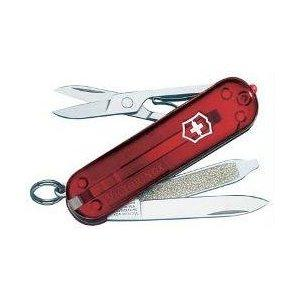 Victorinox SwissLite Swiss Army Knife, Ruby