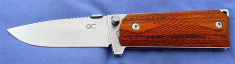 M1911 Standard Folding Knife with Satin Polished 440C Blade and Checkered L