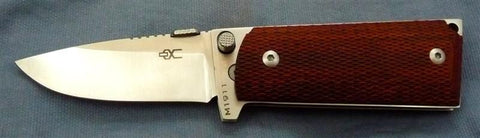 M1911 Compact Folding Knife with Satin Polished 440C Blade & Checkered Lami