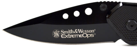 Smith & Wesson Extreme Ops Black Pocket Knife