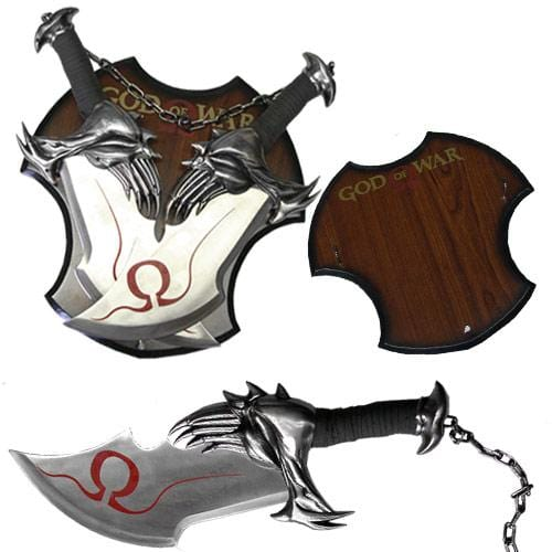 God of War Twin Blade Knives