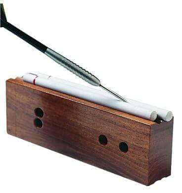Lansky Sharpeners Deluxe Turnbox Crock Stick Sharpener, 2 Medium/2 Fine Rod