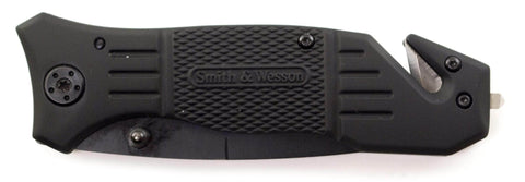 Engraved Smith & Wesson Extreme Ops Tanto Pocket Knife
