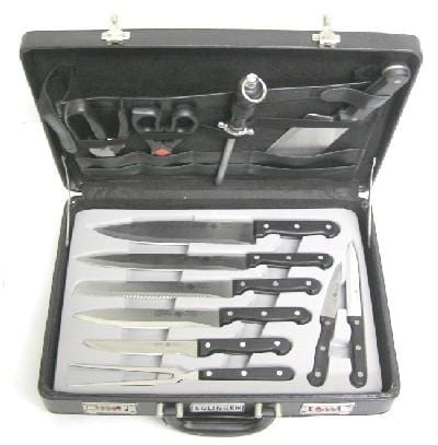 Professional 12 Piece Cutlery Set With Carry Case