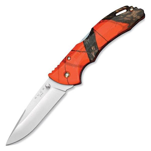 Buck Knives Bantam, BLW, Mossy Oak Blaze Orange Camo, Single Blade Pocket Knife