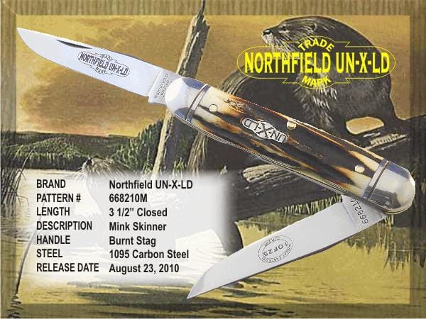 Great Eastern Cutlery Northfield Serpentine - Burnt Stag