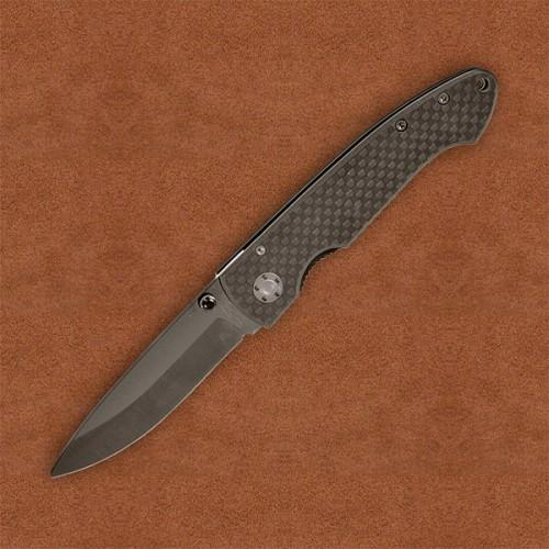 Stone River Ceramic Folder Carbon Fiber Handle