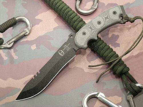 Tops Knives Anaconda 7B Fixed Blade Knife