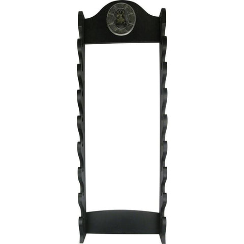 "Master Cutlery 39"" 8 Tier Wall Mount Sword Stand"