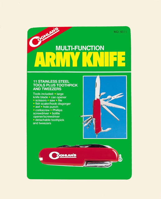 Coghlan's Army Knife (11 Function)