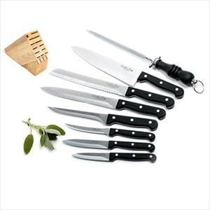 Cook'S Edge 9Pc Cutlery Block Set