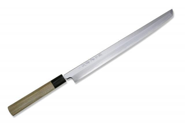Kanetsune Seki Hon-Kasumi Sword-Point Yanagiba 330mm