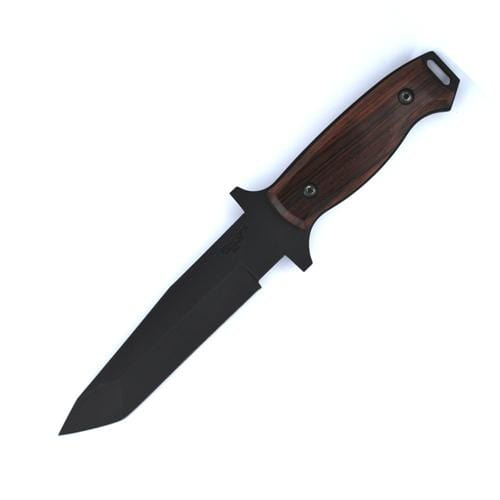 Bear OPS CQC Tactical Fixed Black Blade Cocobola