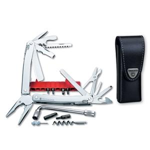 Victorinox SwissTool Spirit with Leather Pouch