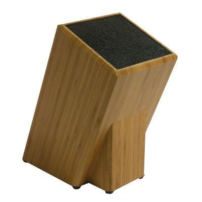 Kapoosh 650 Bamboo No Slot Knife Block with Freedom Rods