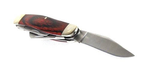 "Bear & Sons Cutlery 4"" Rosewood Large Stockman Pocket Knife"
