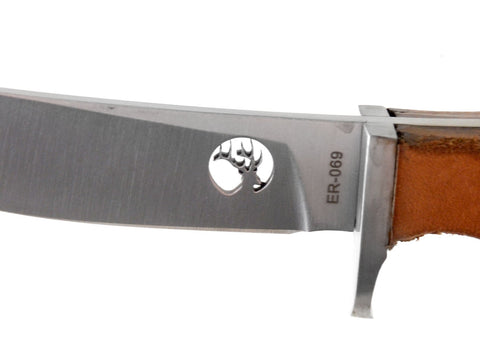 Master Cutlery Fixed Blade Hunter w/Leather Handle