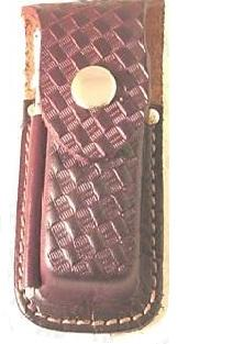 Swiss Army Accessories Large Brown Leather Pouch + Steel 5112..