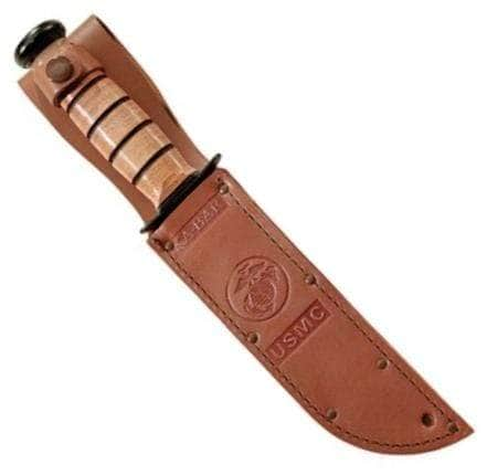 KA-BAR 1217S Brown Leather Sheath for KB1217