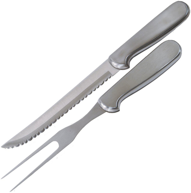 Ginsu 2 Pc. Stainless Steel Carving Set
