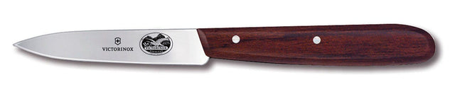 Victorinox 31/4'' Spear Point Paring Knife, Large Rosewood Handle