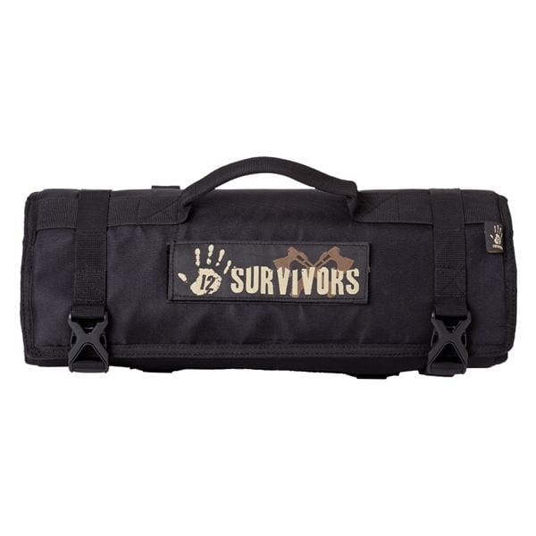12 Survivors Knife Rollup Kit - Knife Depot