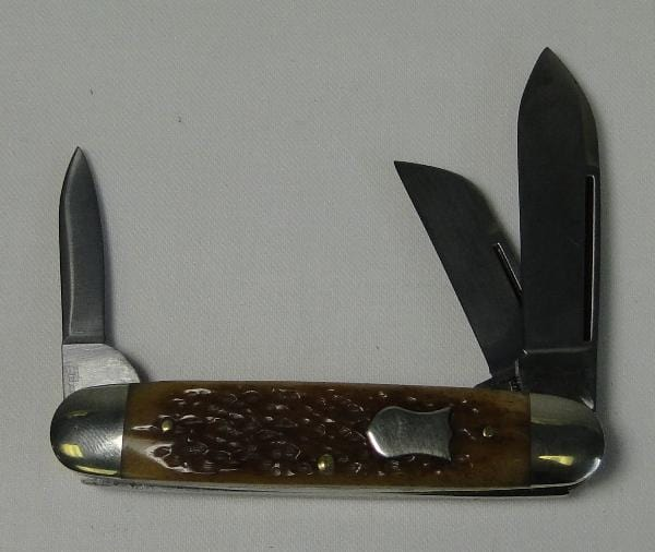 Queen Cutlery Stag Bone Cattle Knife