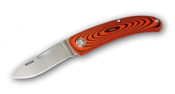 Knives of Alaska Rover Orange/Black Micarta