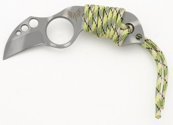 L1 Tactical WY6-Neck Knife-GRN CAMO