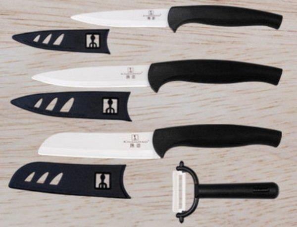 Tekut Kitchen Dao 7 Pc. Premium Ceramic Knife Set