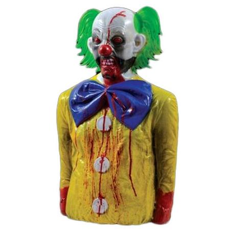Bleeding Zombie BoBo Clown (Yellow)