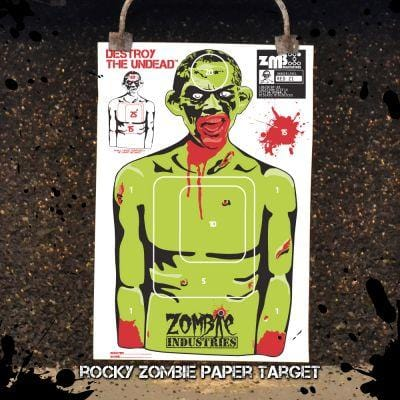 25 Pack Various Zombie Targets 23X35