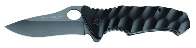 Magnum by Boker Waves Pocket Knife with Aluminum Wave-Shaped Handle
