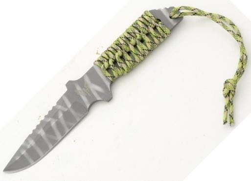 L1 Tactical WY6 - Fixed Blade-Green Camoflage