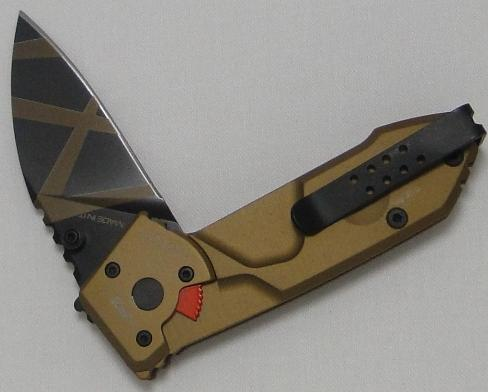 Extrema Ratio Desert Warefare Liner-Lock Knife W/Safet