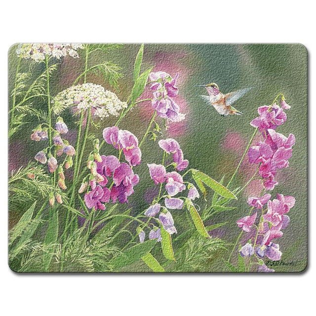 Highland Graphics Nature's Beauty Large Glass Cutting Board
