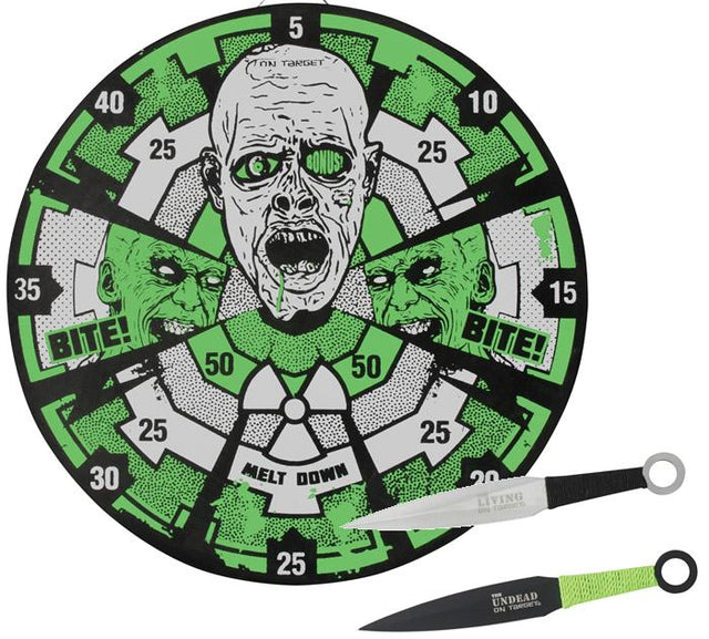 United Cutlery Zombie Melt Down Glow in the Dark Target