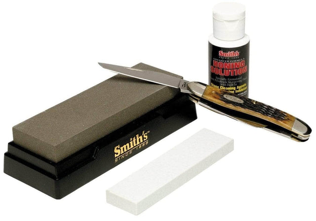 2 Stone Sharpening Kit, Medium/Fine - Knife Depot